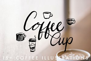 15+ Coffee Cup Illustrations
