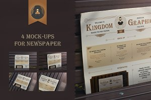 Mock-Up newspaper Vol.3