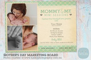 IM023 Mother's Day Marketing Board