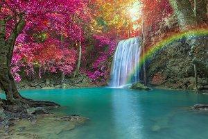 Erawan waterfall National Park