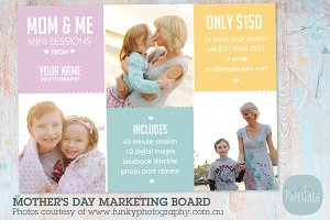 IM005 Mother's Day Marketing Board