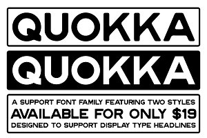 Quokka Font Family