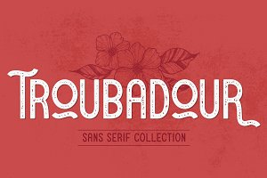 Troubadour | A Stylish Sans Serif