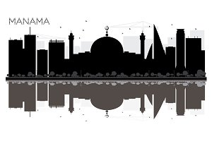 Manama City skyline