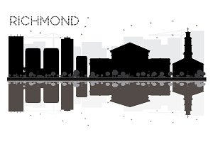 Richmond City skyline