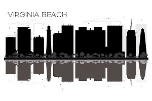 Virginia Beach City skyline