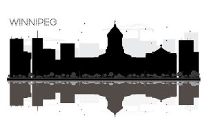 Winnipeg City skyline