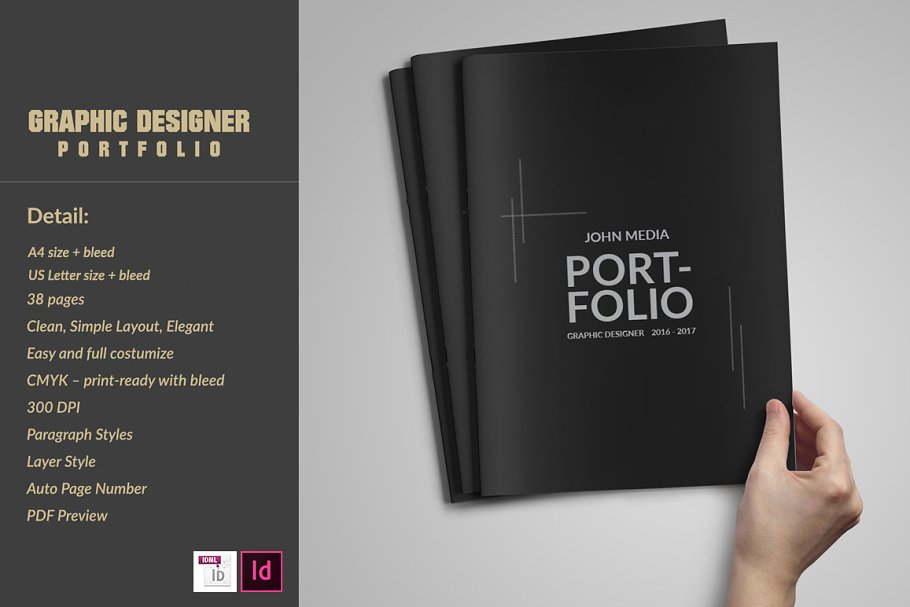 graphic designer portfolio template free download.html