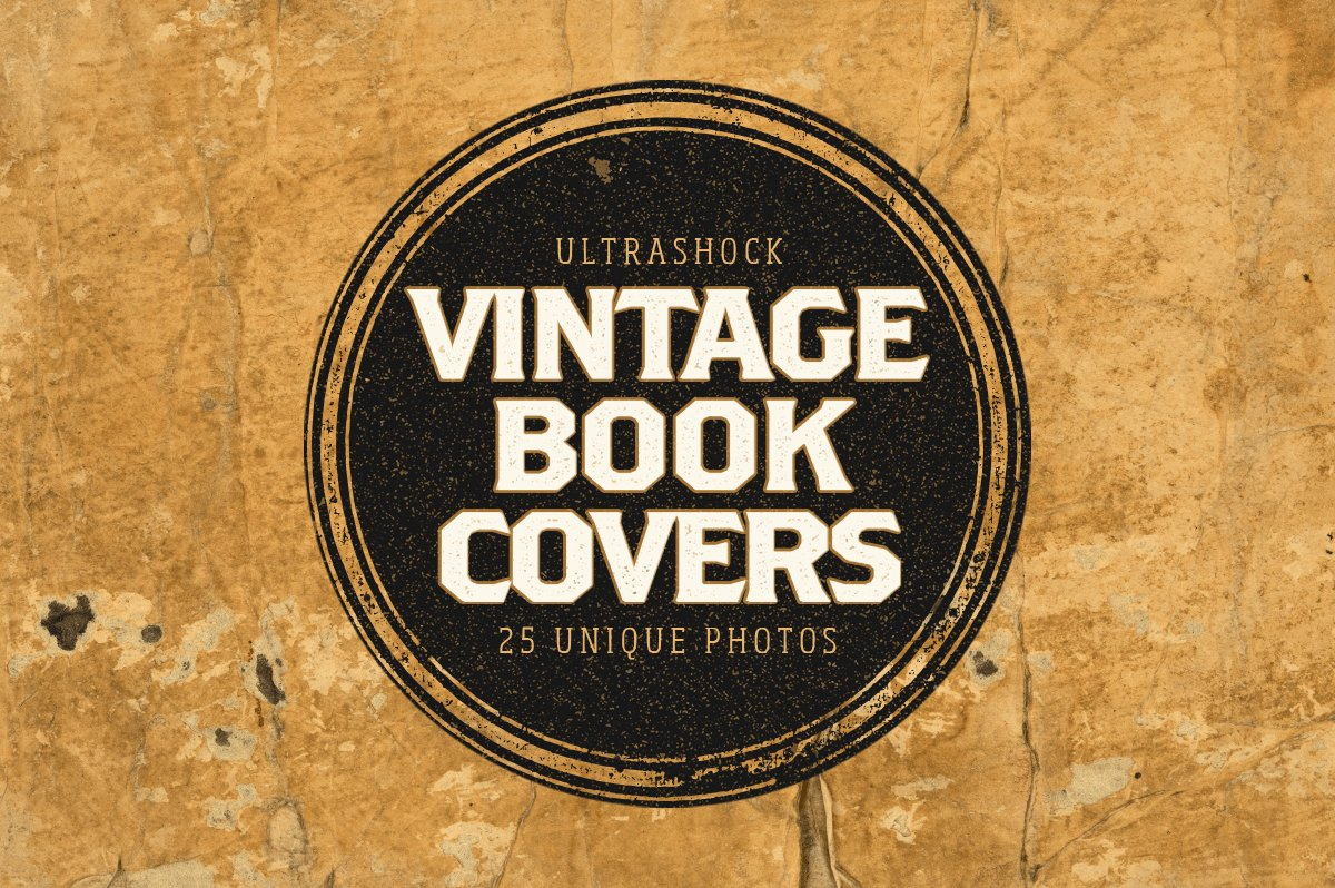 Cookbook Cover Photos : Vintage book covers photo pack textures creative market