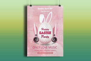 Easter Invitation Flyer-V540