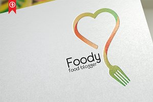 Foody / Food Blogger - Logo