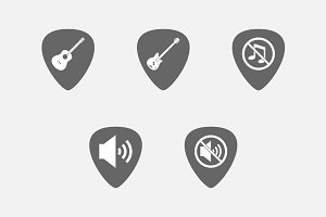Guitar Pick Sound 06