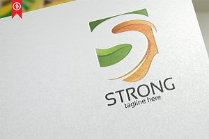 Strong Shield / Letter S - Logo