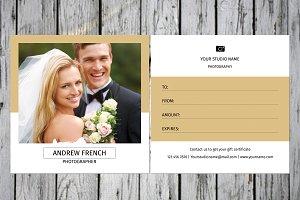 Photographer Gift Certificate-V14