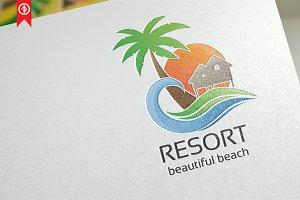 Resort / Beach - Logo Template