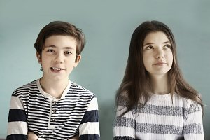 siblings teen boy and girl