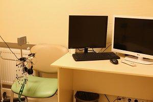 medical cabinet interior