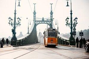 Budapest tram