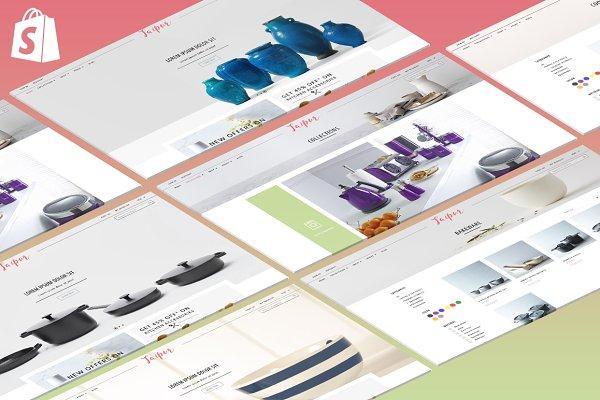 Jaipur Shopify Theme - Home