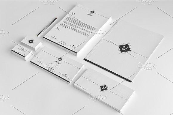 Corporate Identity Template-V03 ~ Stationery Templates ~ Creative ...
