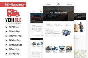 Vehicle - Bootstrap Template