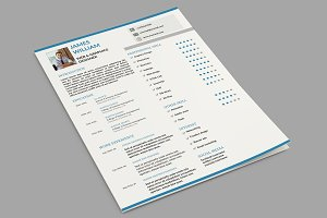 Clean Resume Template-V031