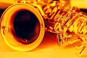 Saxophone details