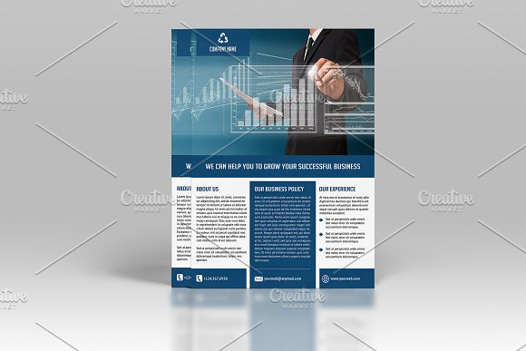 Corporate Flyer Template-V541