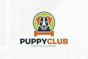 Puppy Club Logo Template