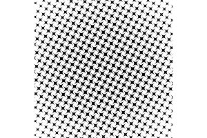 Abstract halftone geometric background. Vector illustration
