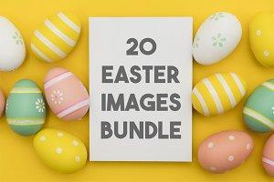 20 Easter images bundle