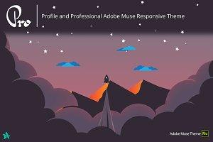 Pro - Adobe Muse  Portfolio Template