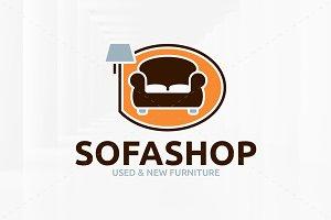 Sofa Shop Logo Template