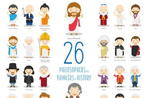 26 Great Philosophers of History