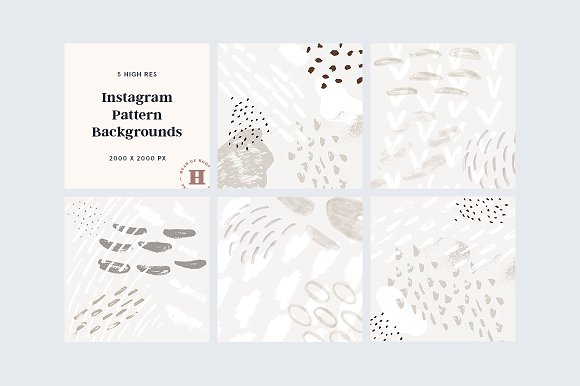 Instagram Pattern Backgrounds