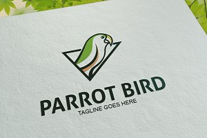 Parrot Bird Logo Template
