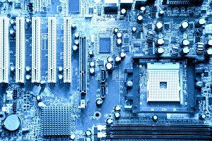 Computer technology background.