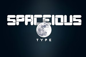 Spaceious All Caps Font