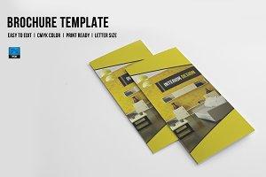 Trifold Interior Brochure - V713