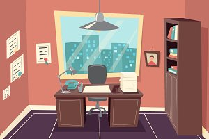 Working Office Room