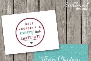 Christmas Card - Printable Template