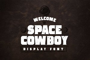 Space Cowboy Serif Aged and Clean