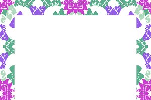 Multicolor Ornate Check Seamless Pattern
