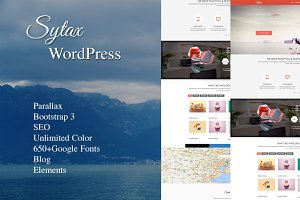 Sytax One Page MultiPurpose WP Theme