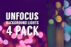 Blurred lights background Set