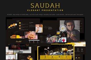 Saudah - Elegant Presentation Slides
