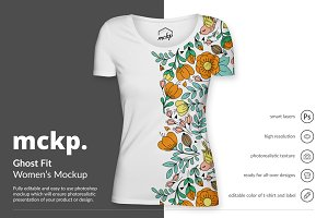 Ghost Fit by mckp - Women's Mockup