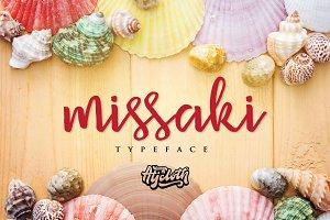 Missaki Typeface (30% off)
