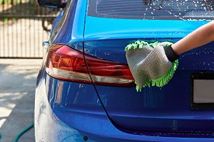 Car hand washing