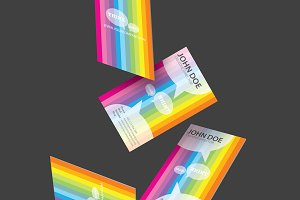Think ideas business card design